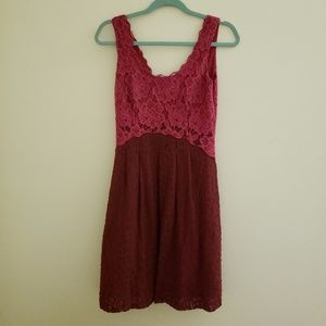 Anthropologie Moulinette Soeurs Scoop Neck Dress